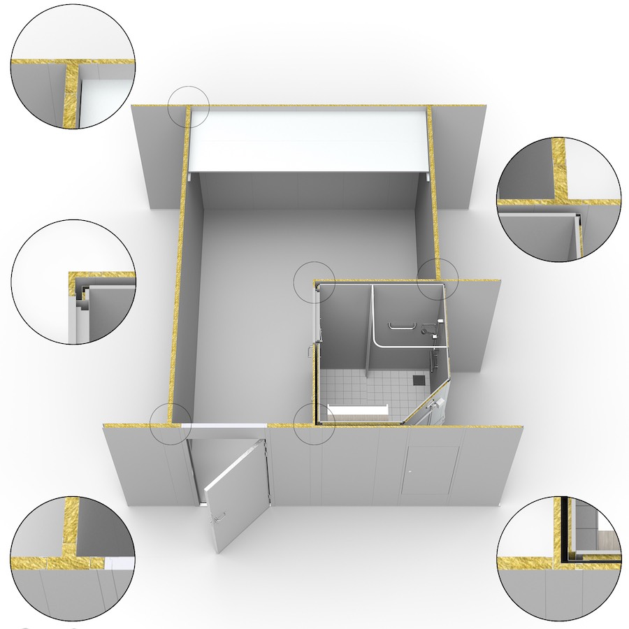 Norac Wall Systems.. WALLS EXAMPLE OF STANDARD SYSTEMS. Norac AS
