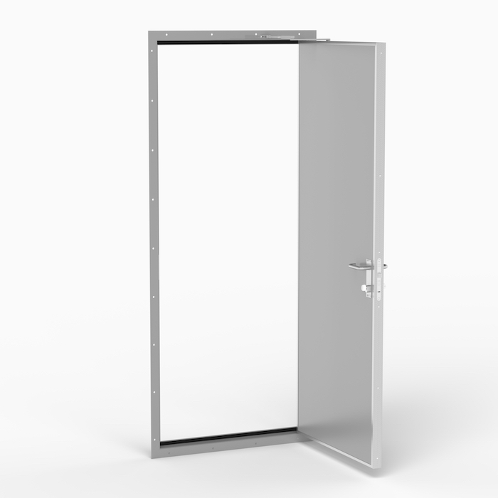 The A30 door is a solid, lightweight door to be used in A-0 or A-30 fire rated bulkheads. Norac AS