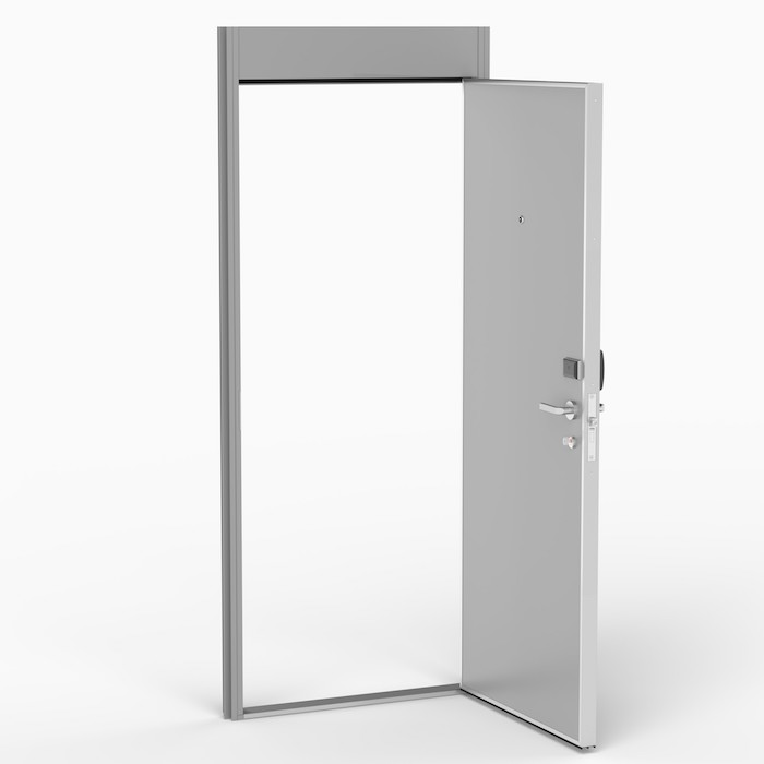 The CD door is specially designedas entry doors for cabinson cruise vessels. Norac AS