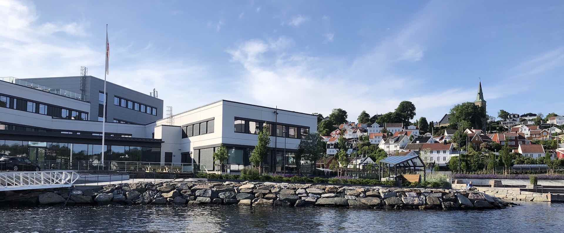 Norac's headquarter in Arendal, Norway