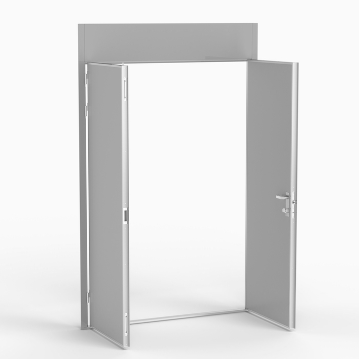 The MLDD is a double leaf door with a wide field of application. Norac AS