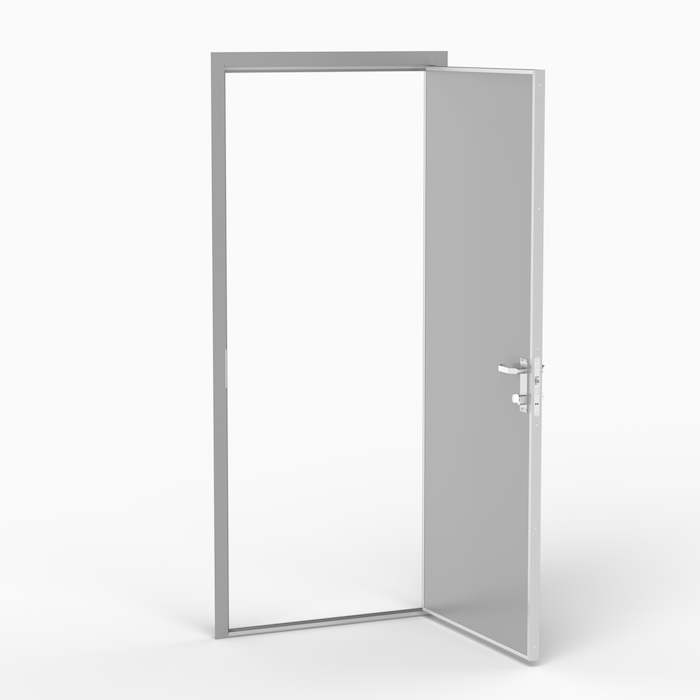 The ML door is a lightweight door with a wide field of application. Typical applications can be corridors, WC and other public areas. Norac AS